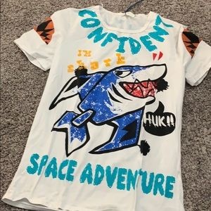 Shirts - Baby Shark Looking T Shirt Fits Like Large